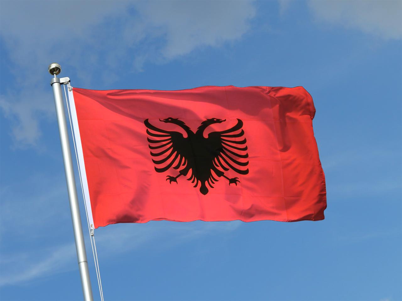 Albania Falg