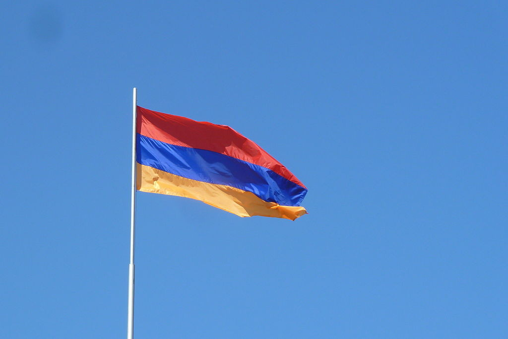 Flag Of Armenia In Yerevan 1024×683