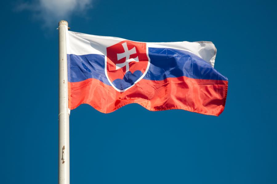 Flaga Slowacji