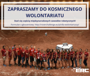 Wolontariat NaEuropean Rover Challenge WStarachowicach