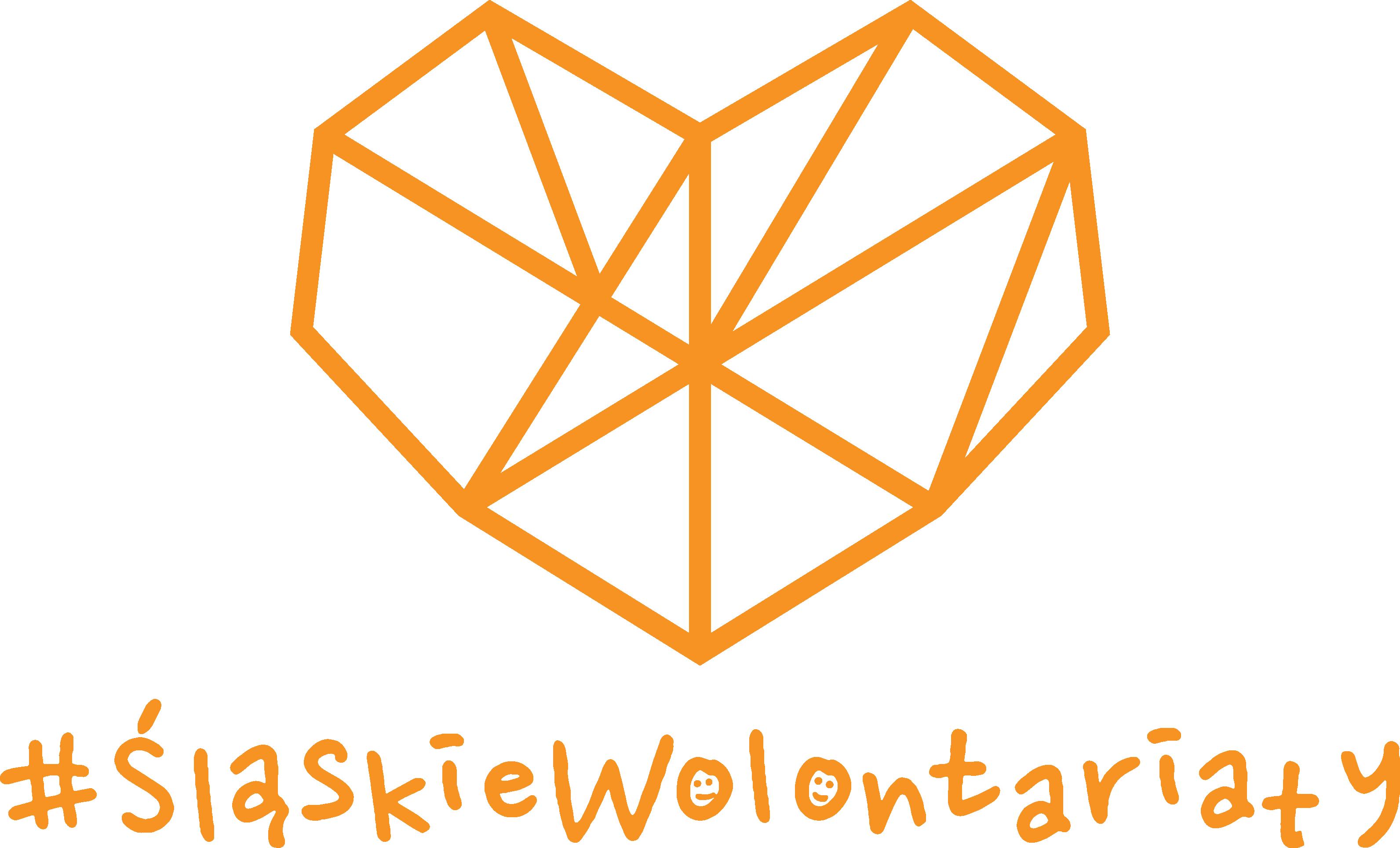 Serce Z Napisem #śląskiewolontariaty