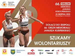 Wolontariat NaMemoriale Kusocińskiego NaStadionie Śląskim