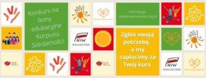 Konkurs Nabony Edukacyjne Dla Wolontariuszy Korpusu Solidarności Wwojewództwie śląskim, Edycja 2021 R.